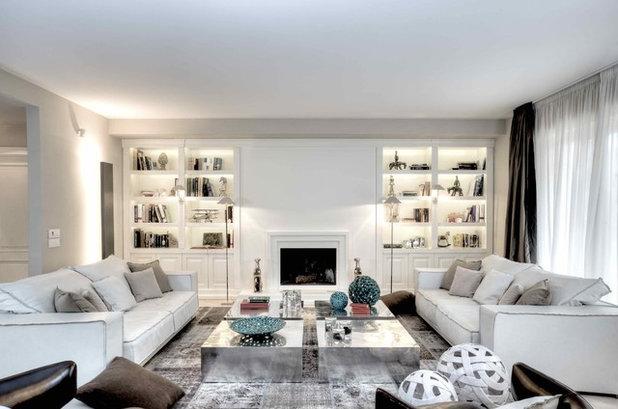 Classico Soggiorno by Ernesto Fusco Interior Designer