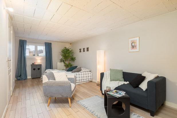 Sous-sol by Pascale Martz - HOME-STAGING EXPERTS