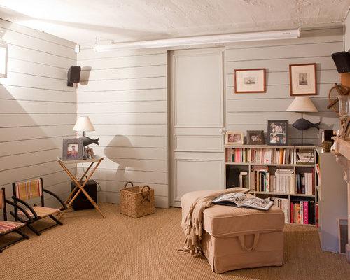 photos et id es d co de sous sols. Black Bedroom Furniture Sets. Home Design Ideas