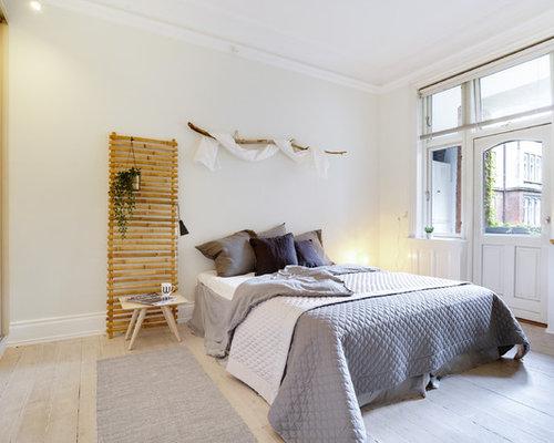 Pareti Beige Chiaro : Camera da letto con pareti beige danimarca foto e idee per arredare