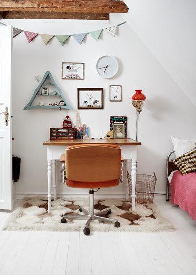 Стиль шебби-шик Спальня by Mia Mortensen Photography