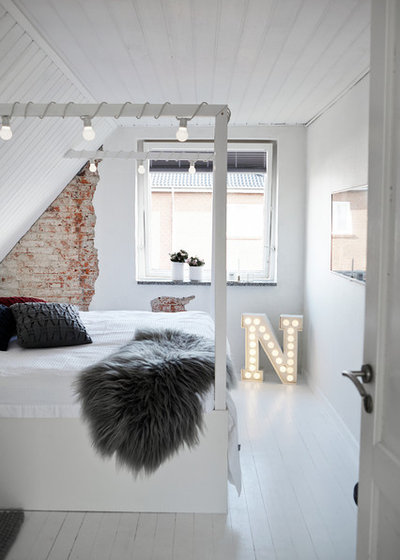 Moderne Chambre by Mia Mortensen Photography