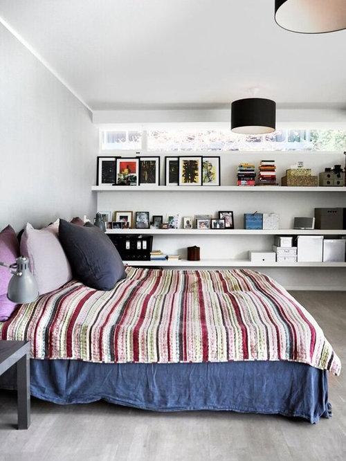 Billeder og indretningsidéer til skandinavisk soveværelse
