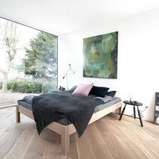 - Krydsfiner seng | Plywood bed - Sengebunde