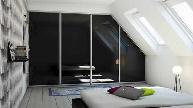 Skandinavisk Soveværelse by AUBO Køkken & Bad