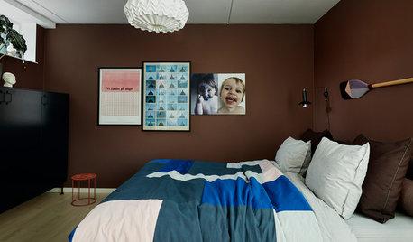 Helt ny stil i sovrummet – så gjorde inredaren