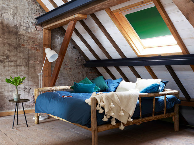 Rustic Bedroom by Stila Danmark