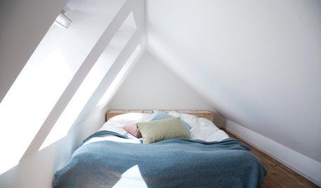 Udnyt skråvæggene i soveværelset – sådan løfter du rummet!