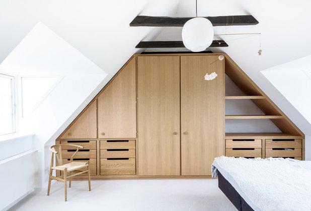 Modern Sovrum by Seedorff design