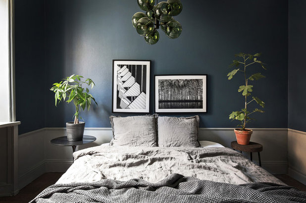 Scandinavo Camera da Letto by Scandinavian Homes
