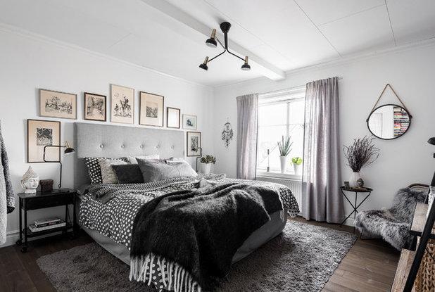 Skandinavisk Soveværelse by Lundin Fastighetsbyrå