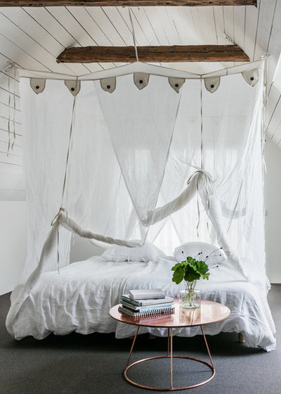 Eclectic Bedroom by Creart Photography
