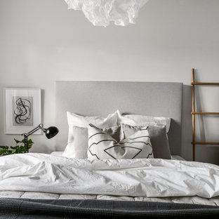 Exempel på ett nordiskt sovrum