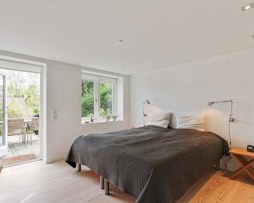 Billeder og indretningsidéer til moderne soveværelse