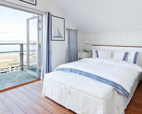 Maritime schlafzimmer in schweden ideen design bilder - Maritimes schlafzimmer ...