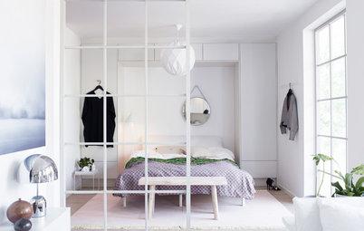 Så skapar du flera rum i din etta – utan att bygga till väggar