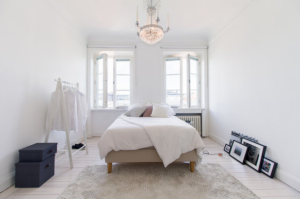 Scandinavo Camera da Letto by Bouger Stockholm