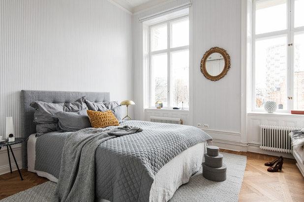 Scandinavian Bedroom by dream design sthlm