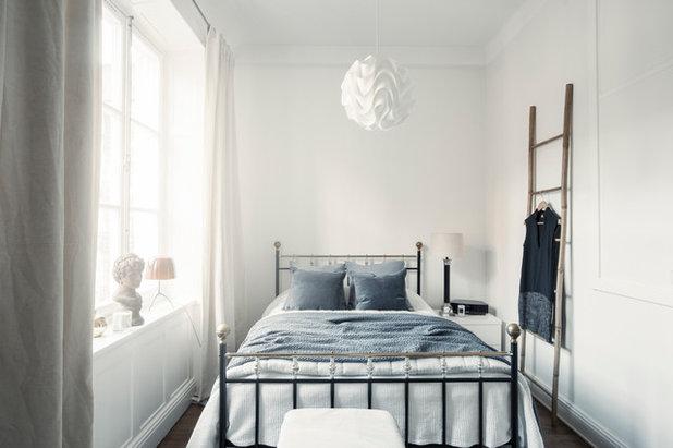 indretning af lille soveværelse Hvordan får jeg et lille soveværelse til at føles større? indretning af lille soveværelse