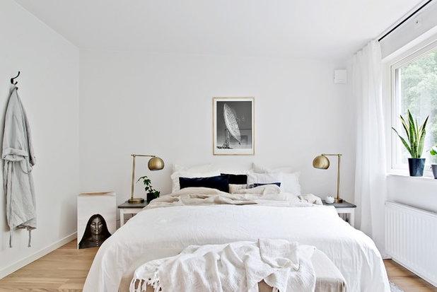 Skandinavisk Sovrum by Lundin Fastighetsbyrå