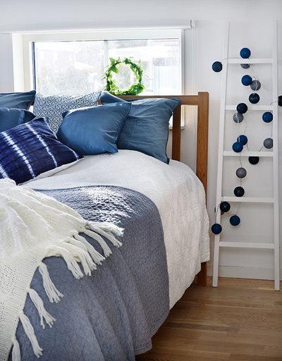 ビーチスタイル 寝室 by Frida Svahn