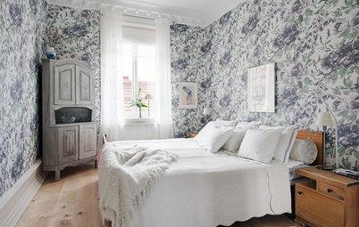 Rofyllt lantlig stil i sovrummet? 8 steg till drömsömnen