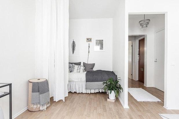 Scandinavian Bedroom by Studio In