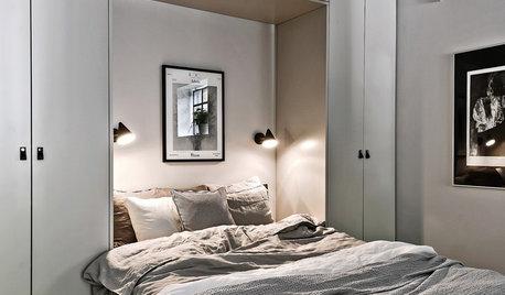 Sådan indretter du et mini-soveværelse