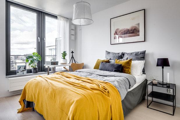 Skandinavisch Schlafzimmer by Stylingbolaget