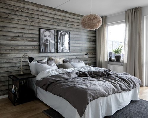 Modern Bedroom Idea In Stockholm
