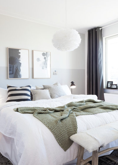 Scandinavian Bedroom by Studio A3