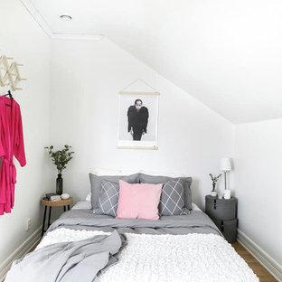 Idéer för små skandinaviska sovrum