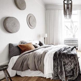 Bedroom - eclectic bedroom idea in Stockholm