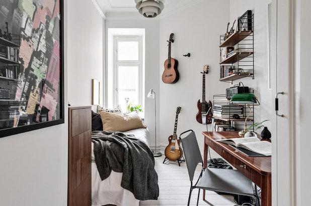 Scandinavian Bedroom by Bjurfors Göteborg
