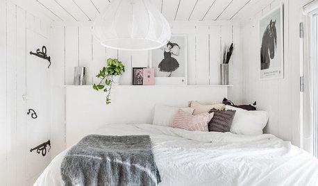 Hvordan får jeg et lille soveværelse til at føles større?