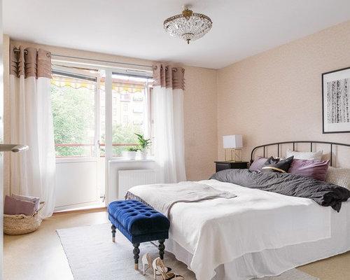 Pareti Rosa Camera Da Letto : Camera da letto con pareti rosa göteborg foto e idee per arredare