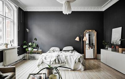 Kulörkoll: Satsa på svarta väggar i alla rum
