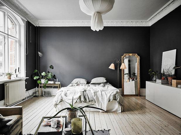 Skandinavisch Schlafzimmer By Entrance Fastighetsmäkleri