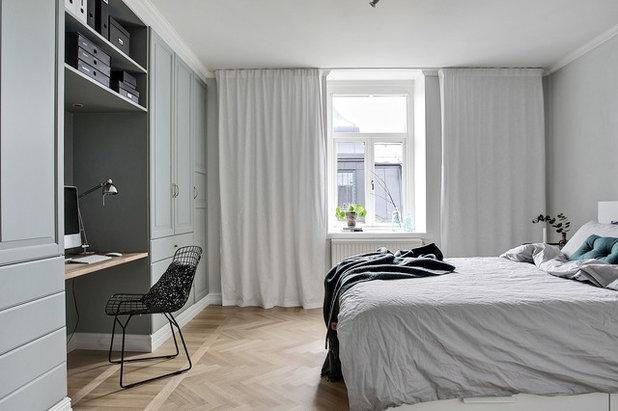 Scandinavian Bedroom by Bjurfors Skåne