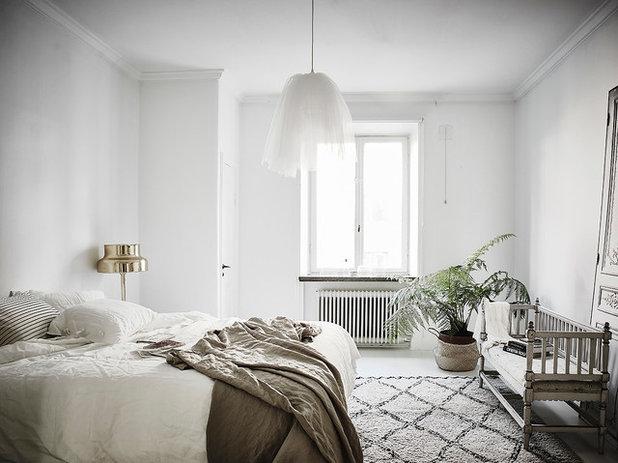 Skandinavisk Soveværelse by Entrance Fastighetsmäkleri