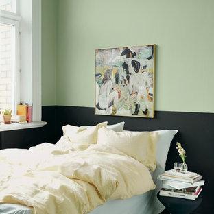 Photo of a scandinavian bedroom in Stockholm.