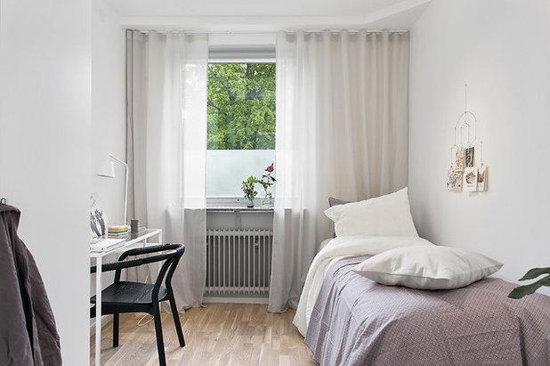 Skandinavisk Sovrum by VRÅ homestyling