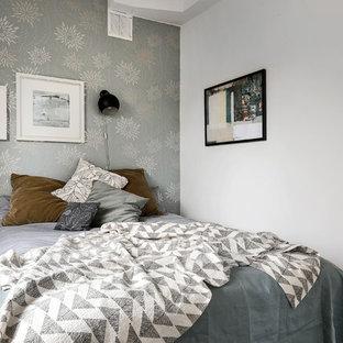 Inspiration för små skandinaviska sovrum