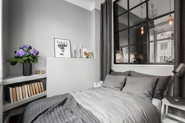 8 motivi per usare il grigio in camera da letto for Camere da letto deco