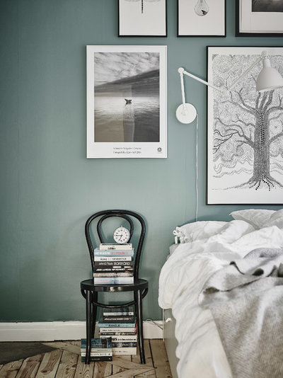 Contemporaneo Camera da Letto by Anders Bergstedt Photography