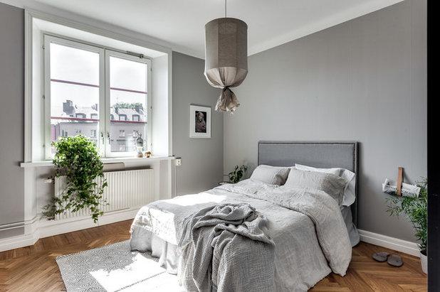 Skandinavisk Soveværelse by Stockholm & Co Fastighetsförmedling AB