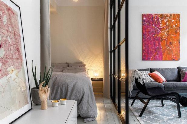 Skandinavisch Schlafzimmer by Bouger Stockholm