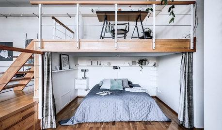 14 solutions pour semi-cloisonner avec un rideau