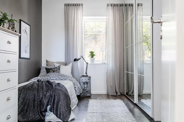 Scandinavian Bedroom by Fastighetsmäklare Malena Ek
