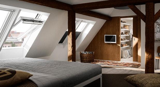 Rústico Dormitorio by VELUX Svenska AB